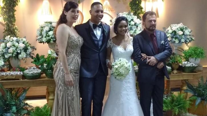 Carol is 17 augustus getrouwd